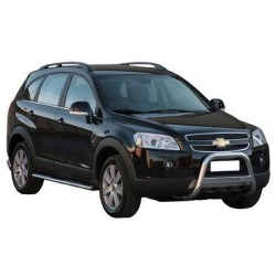 MEDIUM BAR INOX 63.5 CHEVROLET CAPTIVA - accessoires 4X4 MISUTONIDA