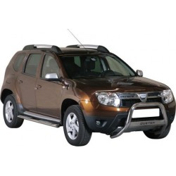 TUBES MARCHE PIEDS OVALE INOX DACIA DUSTER 2010- - accessoires 4X4 MISUTONIDA