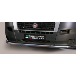 LARGE BAR AVANT INOX 63 FIAT DUCATO 2006- accessoires 4x4 MISUTONIDA
