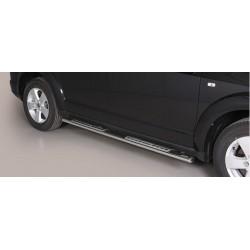 TUBES MARCHE PIEDS OVALE INOX DESIGN FIAT FREEMONT 2011- - accessoires 4X4 MISUTONIDA