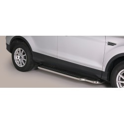 MARCHE PIEDS INOX 50 FORD KUGA 2013- CE accessoires 4x4 MISUTONIDA
