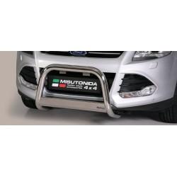 MEDIUM BAR INOX 63 FORD KUGA 2013- CE accessoires 4x4 MISUTONIDA