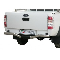 PARE CHOC ARRIERE INOX 76 FORD RANGER 2009- - accessoires 4X4 MISUTONIDA