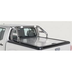 ROLL BAR DBL TUBE INOX 76 FORD RANGER 2012- UPSTONE EVOLVE accessoires 4x4 MISUTONIDA
