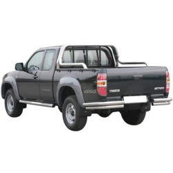 ROLL BAR INOX DOUBLE TUBE 63 FORD RANGER 2007-