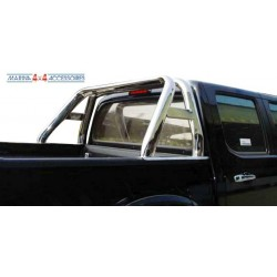 ROLL BAR INOX DOUBLE TUBE OVALE FORD RANGER 2007- - accessoires 4X4 MISUTONIDA
