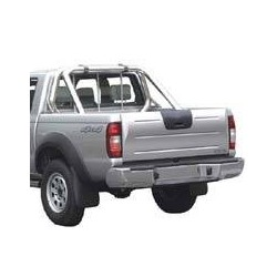 ROLL BAR INOX DOUBLE TUBES Ø 76 FORD RANGER 1999- 2006 IDEM B2500