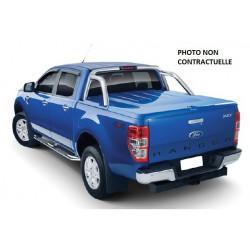 TONNEAU COVER EGR ABS3 FORD RANGER 2012- DCAB GRIS 18G COMPATIBLE ROLL BAR - accessoires 4X4 MISUTONIDA
