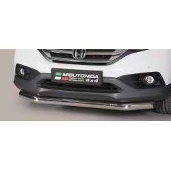 TUBE PROTECTION AVANT INOX 76 HONDA CR-V 2012- accessoires 4x4 MISUTONIDA