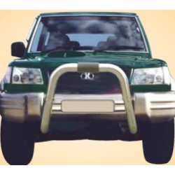 BIG BAR INOX Ø 76 HYUNDAI GALLOPER 1998- 2002