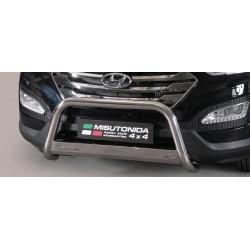 MEDIUM BAR INOX 63 HYUNDAI SANTA FE 2012- CE- accessoires 4x4