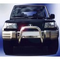 MEDIUM BAR INOX 63.5 HYUNDAI GALLOPER 1998- 2002 - accessoires 4X4 MISUTONIDA