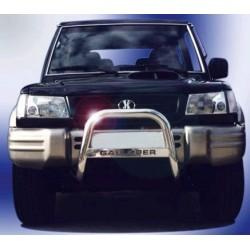 MEDIUM BAR INOX 63.5 HYUNDAI GALLOPER 1998- 2002 - accessoires 4X4 MISUTONIDA