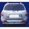 PARE CHOC ARRIERE INOX 63 HYUNDAI SANTA FE 2000- 2005 - accessoires 4X4 MISUTONIDA
