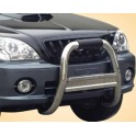 RAMM BIG BAR INOX Ø 76 HYUNDAI TERRACAN 2001- 2004