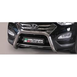 SUPER BAR INOX 76 HYUNDAI SANTA 2012- CE - accessoires 4x4