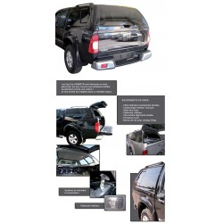HARD TOP ACIER ISUZU DMAX 2012- DBL CAB GRIS (505/116) ROYAL GREY