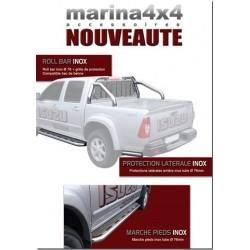MARCHE PIEDS INOX MTC 76 ISUZU D-MAX - accessoires 4X4 MISUTONIDA