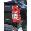 PROTECTION FEUX ARRIERE INOX SUR AILE ISUZU D-MAX 2007- - accessoires 4X4 MISUTONIDA