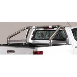ROLL BAR INOX DOUBLES TUBES 76 ISUZU DMAX 2012- - accessoires 4X4 MISUTONIDA