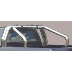 ROLL BAR INOX TRIPLE TUBES 76 ISUZU DMAX 2012- - accessoires 4X4 MISUTONIDA