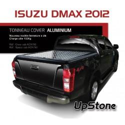 TONNEAU COVER ALUMINIUM ISUZU DMAX 2012- SPACE CAB - accessoires 4X4 MISUTONIDA
