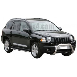 BIG BAR INOX Ø 63 JEEP GRAND CHEROKEE 1998- 2005