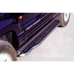Marche pieds INOX Ø50 JEEP GRAND CHEROKEE 1993- 1999 - accessoires 4X4 MISUTONIDA