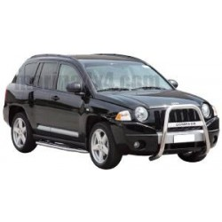 SMALL BAR INOX Ø 63 JEEP COMPASS 2007-
