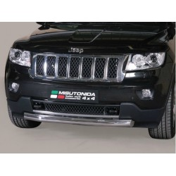 TUBE PROTECTION AVANT INOX 76 JEEP GRAND CHEROKEE 2011- - accessoires 4X4 MISUTONIDA