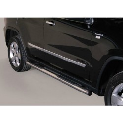 TUBES MARCHE PIEDS INOX 76 JEEP GRAND CHEROKEE 2011- - accessoires 4X4 MISUTONIDA