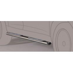 TUBES MARCHE PIEDS OVALE INOX DESIGN JEEP WRANGLER 5P 2011- - accessoires 4X4 MISUTONIDA