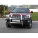 BIG BAR INOX Ø 76 KIA SPORTAGE 2004-