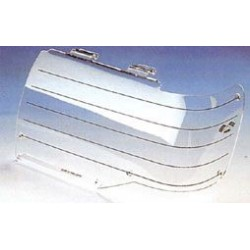 HEADLAMP GUARDS LAND ROVER DISCOVERY 1999- PROTECTION PHARES PLEXI
