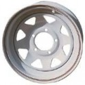 JANTE ACIER BLANCHE 15X7 5 TROUS OFF-10 R.ROVER/DISCOVERY/DEF