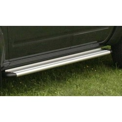 Marche pieds ALU S50 LANDROVER DISCOVERY II 1999- - accessoires 4X4 MISUTONIDA