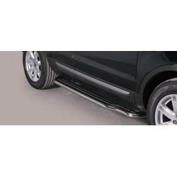 Marche pieds INOX 50 RANGE ROVER EVOQUE 2012- accessoires 4X4 MISUTONIDA