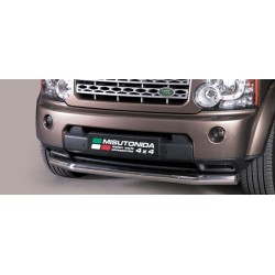 TUBE PROTECTION AVANT INOX 76 LAND ROVER DISCOVERY 4 2012- CE accessoires 4X4 MISUTONIDA