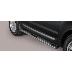TUBES MARCHE PIEDS OVALE INOX DESIGN RANGE ROVER EVOQUE 2012- accessoires 4X4 MISUTONIDA