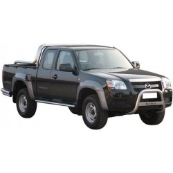 MEDIUM BAR INOX 63.5 MAZDA BT50 2007- - accessoires 4X4 MISUTONIDA