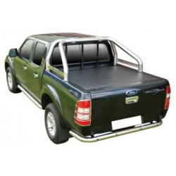 ROLL BAR INOX Ø 76 COMP RTC MAZDA BT50/FORD RANGER DOUBLE CAB