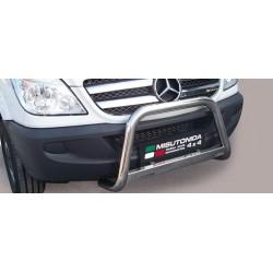 MEDIUM BAR INOX 63 MERCEDES SPRINTER 2007- 2012 - CE accessoires 4x4 MISUTONIDA