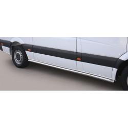 TUBES BAS DE CAISSE INOX 63 MERCEDES SPRINTER 2013- accessoires 4x4 MISUTONIDA