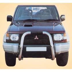 BIG BAR INOX Ø 76 MITSUBISHI PAJERO 1991+ 2.8TD+3.5