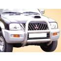 BIG BAR MONOBLOC INOX Ø 76 MITSUBISHI L200 ( 115ch ) 2002- 2006