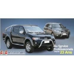 GRILLE CHROME FEUX AVANT MITSUBISHI L200 2006- - accessoires 4X4 MISUTONIDA