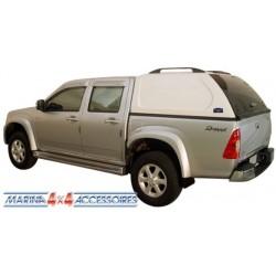 HARD TOP ABS MITSUBISHI L200 DBLE CAB 2005- SANS VITRES LATERALES