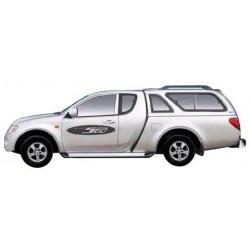 Hard top CARRYBOY MITSUBISHI L200 CLUB CAB 2006- AVEC VITRES LATERALE