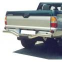 PARE CHOC ARRIERE INOX Ø 76 MITSUBISHI L200 1997- 2006 - accessoires 4X4 MISUTONIDA