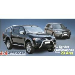 PROTECTION FEUX ARRIERE INOX SUR AILE MITSUBISHI L200 2006- (137ch) - accessoires 4x4
